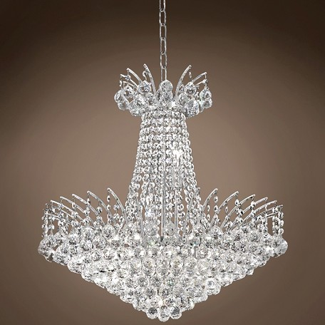 "JM Flamingo Design 11 Light 24"" Chandelier"