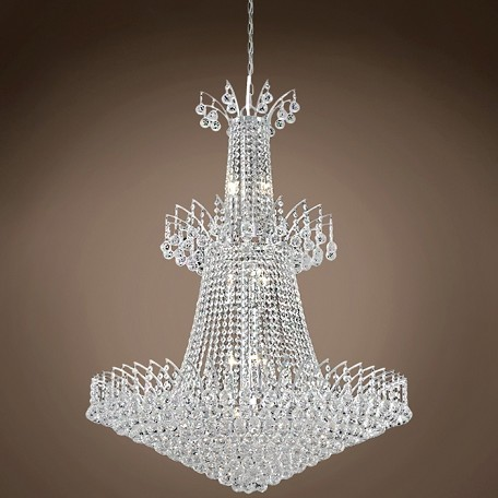 "JM Flamingo Design 18 Light 32"" Chandelier"