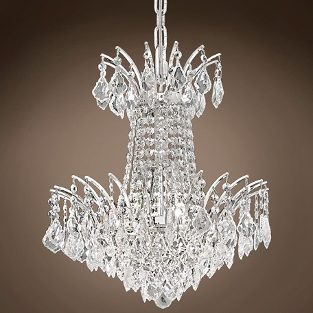 "JM Flamingo Design 4 Light 16"" Chandelier"