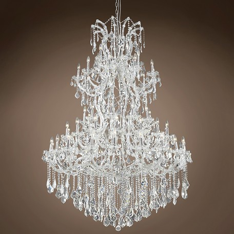 "JM Maria Theresa 61 Light 54"" Chandelier"