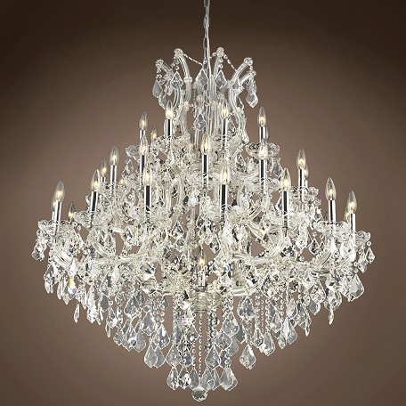 "JM Maria Theresa 37 Light 44"" Chandelier"