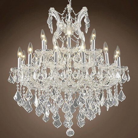 "JM Maria Theresa 19 Light 30"" Chandelier"