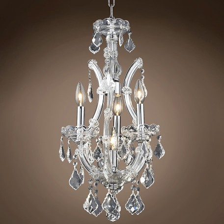 "JM Maria Theresa 4 Light 12"" Chandelier"