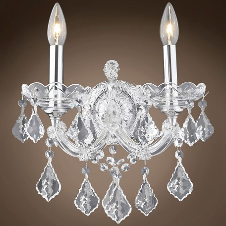 "JM Maria Theresa 2 Light 12"" Wall Sconce"