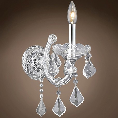 "JM Maria Theresa 1 Light 8"" Wall Sconce"