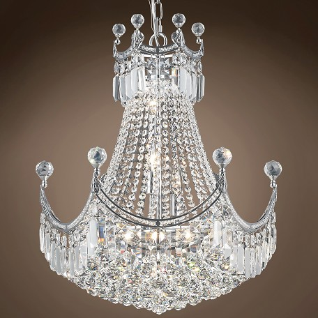 "JM Royal Throne Design 9 Light 20"" Chandelier"
