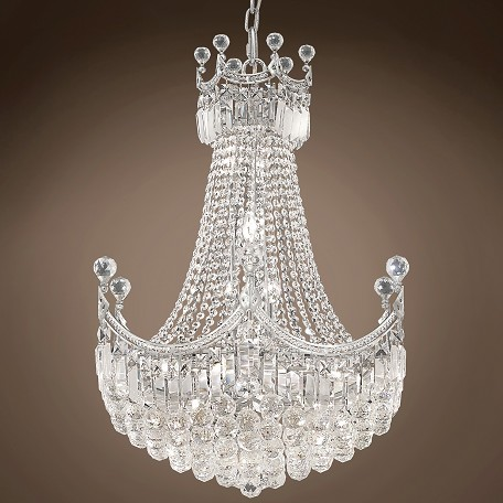 "JM Royal Throne Design 18 Light 24"" Chandelier"
