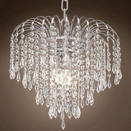 "JM Waterfall Design 4 Light 14"" Chandelier"