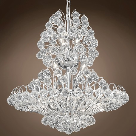 "JM Vegas Design 14 Light 24"" Chandelier"