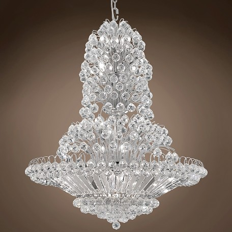 "JM Vegas Design 33 Light 36"" Chandelier"