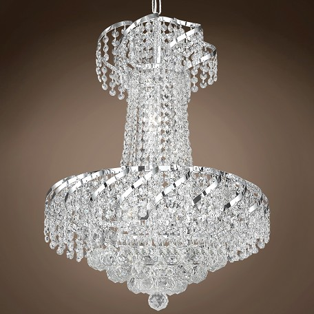 "JM Regal Design 6 Light 18"" Chandelier"