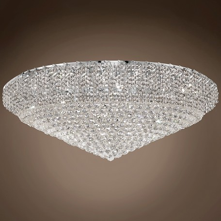 "JM Regal Design 36 Light 48"" Flush Mount"