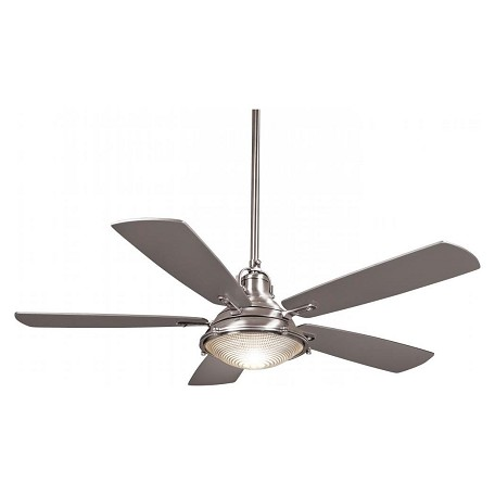 Minka Aire 56in Groton Ceiling Fan Indoor Use Polished
