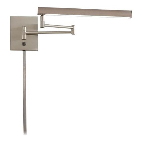 Minka George Kovacs Brushed Nickel LED ADA Wall Sconce from the Task Swing Arm Collection