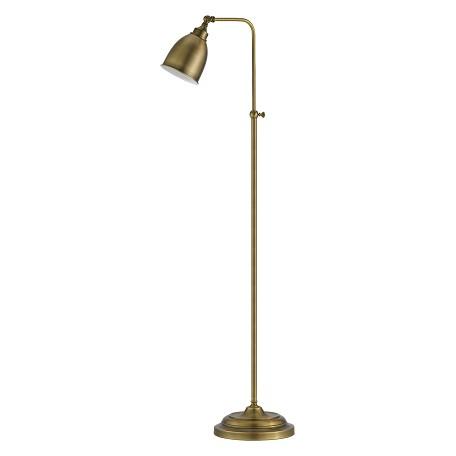 Cal Lighting Antique Brass Pharmacy 1 Light Pedestal Base