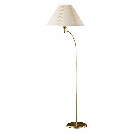 Cal Lighting Antique Brass 1 Light 66in Height Arc Floor