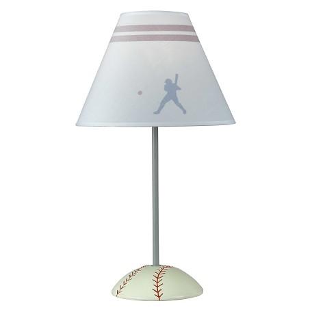 cal lighting 60w baseball lamp bo 5683 - Baseball Lamp