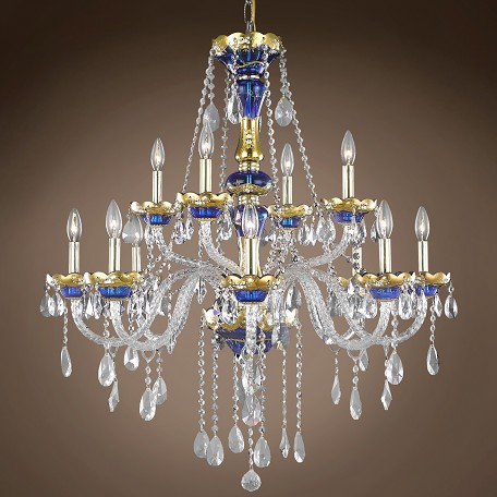 "JM Bohemian Design 12 Light 33"" Chandelier"