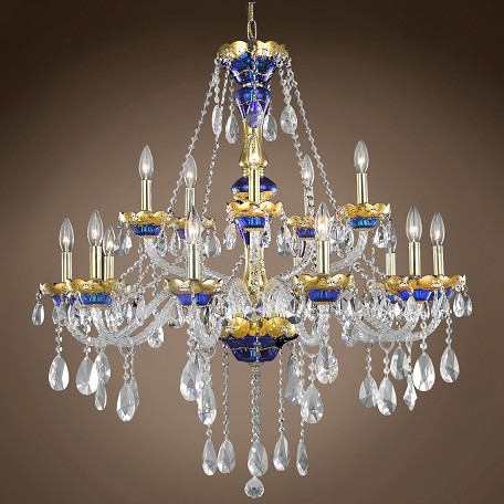 "JM Bohemian Design 15 Light 35"" Chandelier"
