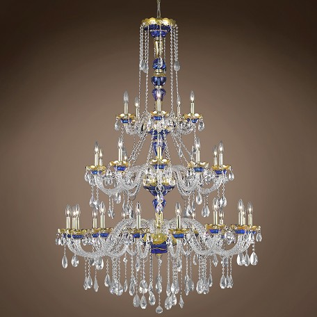 "JM Bohemian Design 30 Light 45"" Chandelier"