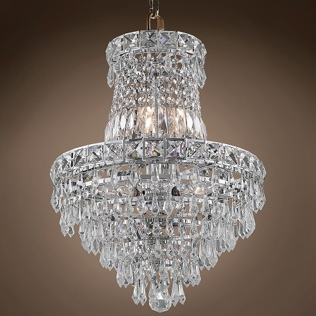 "JM Invisible Design 6 Light 14"" Chandelier"