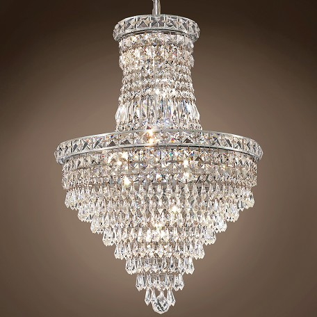 "JM Invisible Design 12 Light 18"" Chandelier"