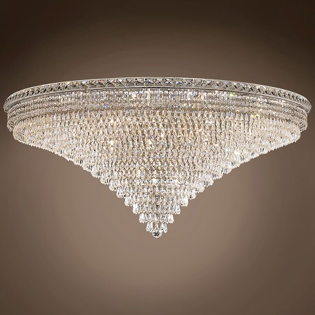 "JM Invisible Design 33 Light 48"" Flush Mount"