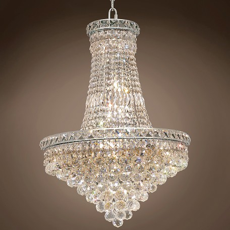 "JM Invisible Design 22 Light 22"" Chandelier"