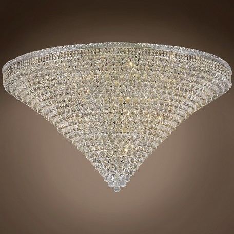 "JM Invisible Design 48 Light 60"" Flush Mount"