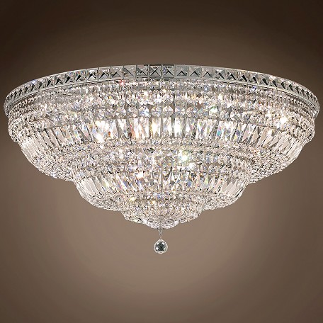 "JM Invisible Design 21 Light 36"" Flush Mount"