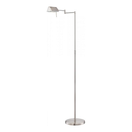 lite source inc halogen floor lamp ps 100w j type silver ls 960ps from pharma collection. Black Bedroom Furniture Sets. Home Design Ideas