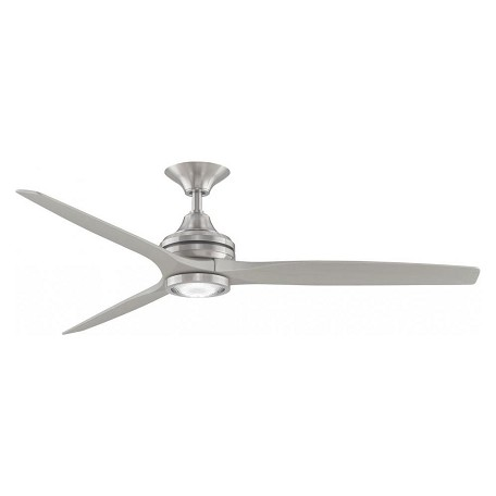 Fanimation Spitfire: Brushed Nickel (Motor Only)