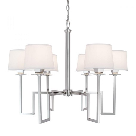Norwell Maya 6 Arm Chandelier