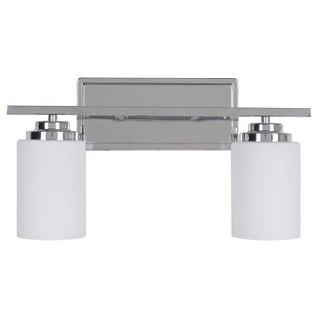 Vanity Lights Craftmade : Craftmade 2 Light Vanity Chrome 39702-CH From Albany Collection