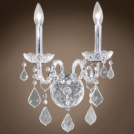 "JM Victorian Design 2 Light 13"" Wall Sconce"