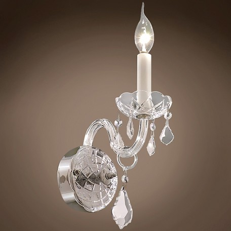 "JM Victorian Design 1 Light 4"" Wall Sconce"