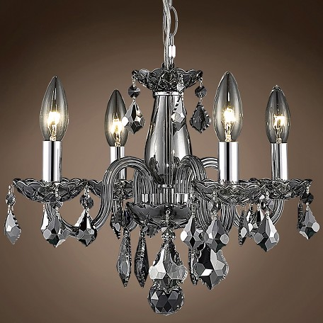 "JM Victorian Design 4 Light 15"" Chandelier"