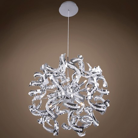 Joshua Marshal 701305 001 Ribbon 12 Light 24 Quot Chrome