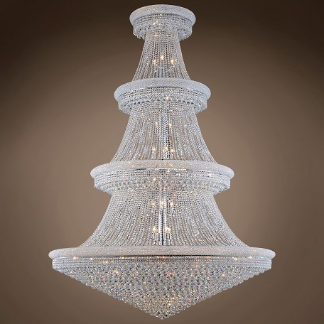 "JM Bagel 66 Light 72"" Chandelier"