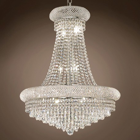 "JM Bagel 14 Light 24"" Chandelier"