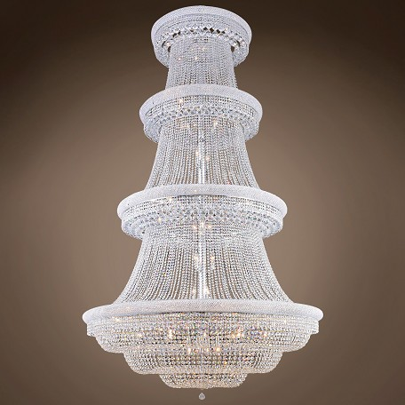 "JM Bagel 56 Light 62"" Chandelier"