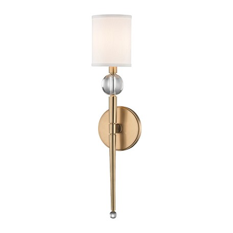 Hudson Valley 1 Light Wall Sconce 8421 Agb From Rockland