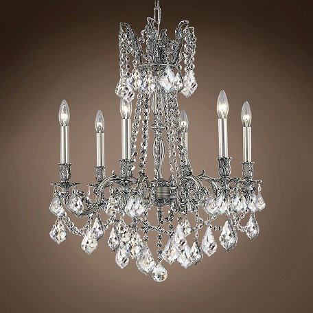 "JM Versailles 6 Light 23"" Chandelier"