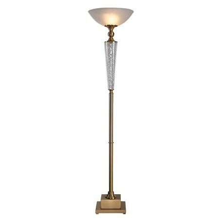 Uttermost Uttermost Credera Brass Torchiere Floor Lamp