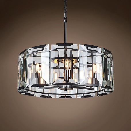 "Emerald 6 Light 26"" Chandelier"