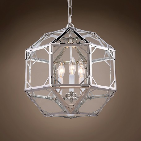 Restoration Revolution Parisian Octagonal 3 Light 14
