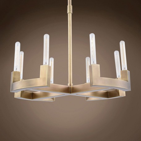 "Beaux 8 Light 26"" Round Chandelier"