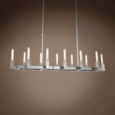 "Beaux 12 Light 54"" Linear Chandelier"