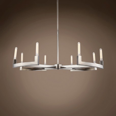 "Beaux 8 Light 48"" Round Chandelier"