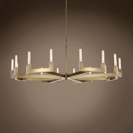 "Beaux 16 Light 60"" Round Chandelier"